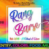 Rang Barse! (Holi - Festival of Colors)