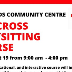 Red Cross Babysitting Course (11-14 years)
