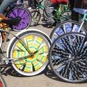 Bike Decoration Station at Sunday Parkways (Pedalpalooza)