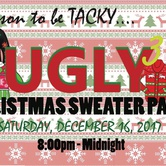 GLOW - Ugly Christmas Sweater Party