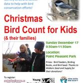 Christmas Bird Count for Kids