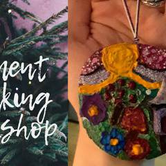 Tree Trunk Ornament Workshop