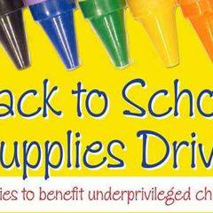 Pack the Pack 3rd Annual School Supply Giveaway