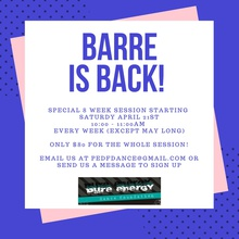 Barre is Back