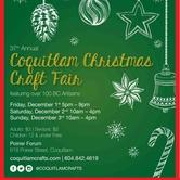 37th Annual Coquitlam Christmas Craft Fair