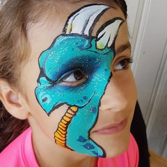 Amazing Face Painting at the Halifax Seaport Farmers Market