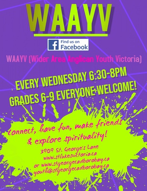 WAAYV (Wider area Anglican Youth Victoria)
