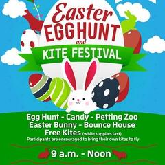 Easter Egg Hunt and Kite Festival