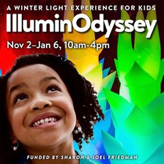 CuriOdyssey's IlluminOdyssey Winter Light Experience for Kids