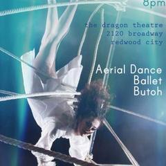 Giselle :: aerial dance : ballet : butoh