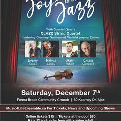 Music4Life String Orchestra presents Joy to the Jazz