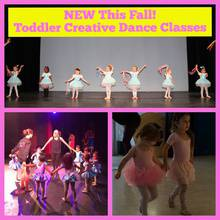 NEW This Fall- Toddler Creative Dance Classes!
