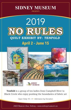 No Rules: Quilt Exhibit