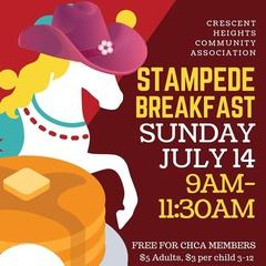Stampede Breakfast Crescent Heights