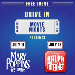 Free Drive in Movie Nights!