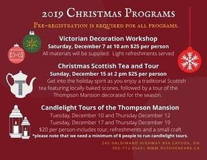 Christmas Scottish Tea and Tour