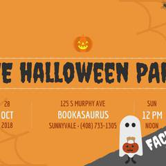 Free Halloween Face Painting, Games, & Crafts!