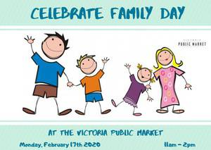Family Day at the Victoria Public Market