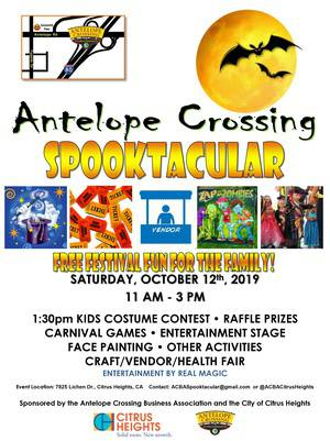 11th Annual Antelope Crossing Spooktacular
