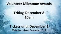 Volunteer Milestone Awards