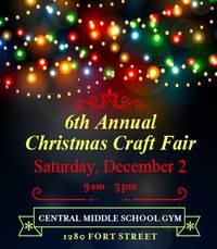 6th Annual Christmas Craft Fair