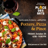 pARTy@PdA: Pottery, Pizza and Pinot #1