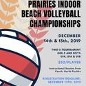 PRAIRIES INDOOR BEACH VOLLEYBALL CHAMPIONSHIPS