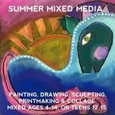Summer Mixed Media