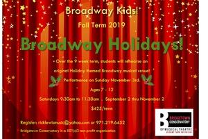 BROADWAY KIDS - BROADWAY HOLIDAYS!