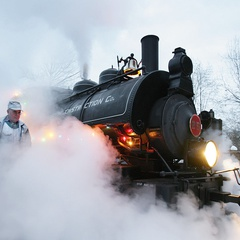 The Christmas Express at the BC Forestry Discovery Centre