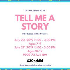 Tell Me A Story: An intro to Short Stories
