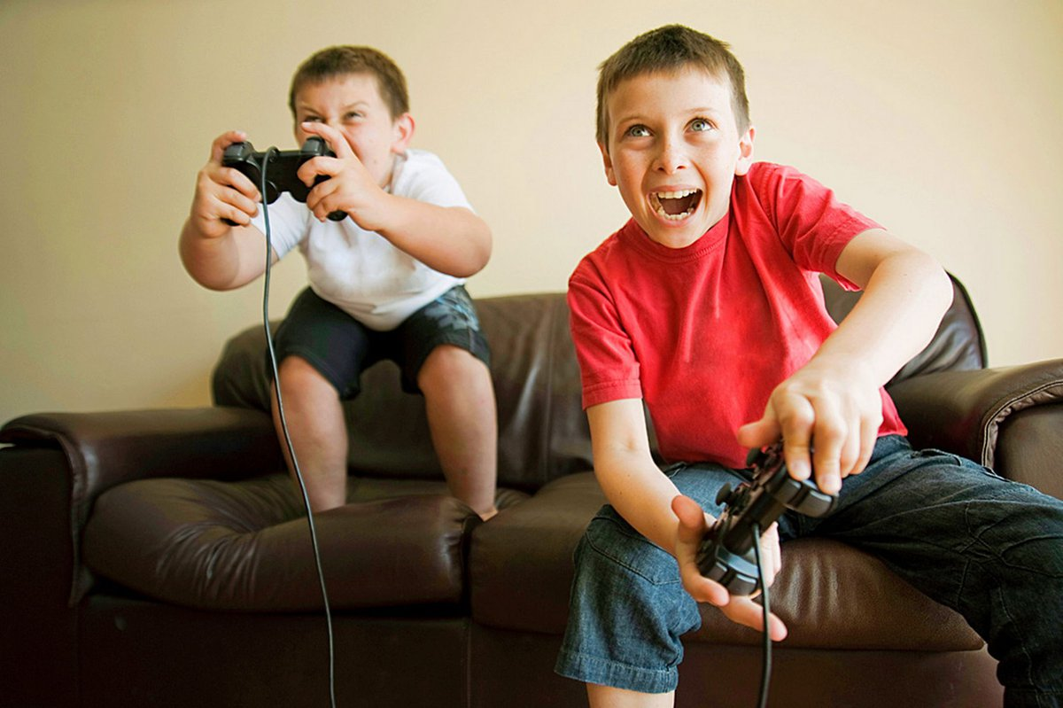 children spend too much time playing