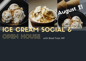 Ice Cream with Brad Trost, MP