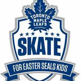 40th Toronto Maple Leafs Skate for Easter Seals Kids