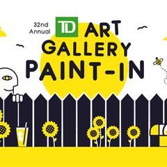 TD Art Gallery Paint In
