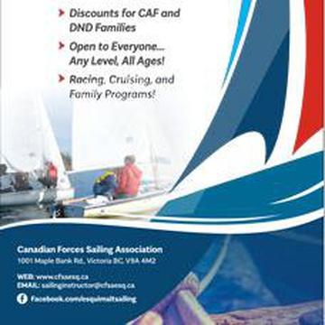 Canadian Forces Sailing Association - CF Sailing School Esquimalt's promotion image