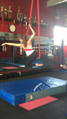 Aerial Classes for Teens- Aerial Silk and Aerial Lyra