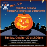 Mr. I's Slightly Spooky Songs and Stories Concert