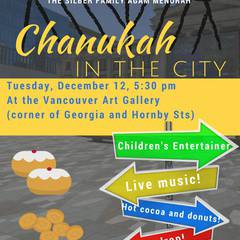 Light Up the Night: Chanukah in the City