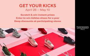 Awesome Event: Get Your Kicks - Tsawwassen Mills