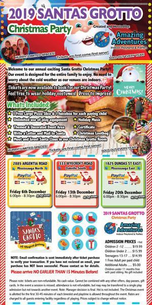 2019 Dundas East Location - Santas Grotto Christmas Party