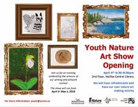 Youth Nature Art Show Opening Night