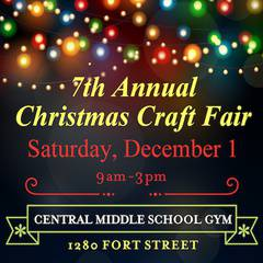 7th Annual Central Middle School Christmas Craft Fair