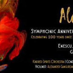 ALEGRIA | A symphonic concert featuring works by Enescu, Bartók, Grieg, Vivaldi, and Kirculescu