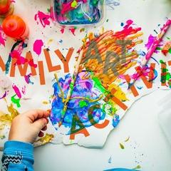 Family Art Activity at SGC