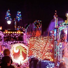 Langford Light Up and Truck Parade
