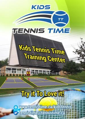 Free Kids Tennis Trial Day