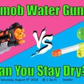 Flashmob Water Gun Fight