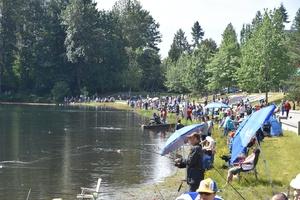 Lafarge Lake Family Fishing Day