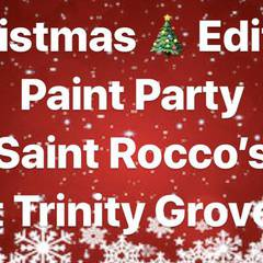 Holiday Paint Party @ Saint Roccos